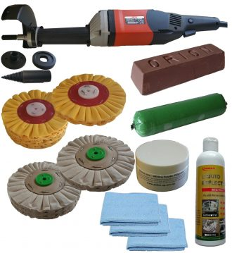 178mm Airflow Alloy barell polisher 2 section.  33059 1