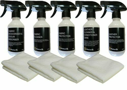 Fabric Leather Care Kit With Cloths 324418042031