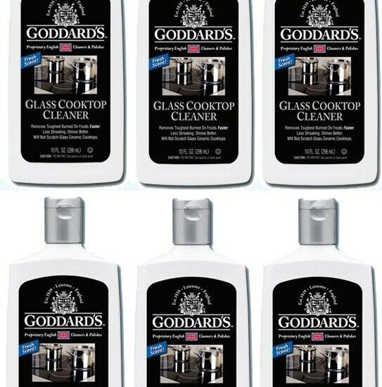 Goddards Glass Cooktop Cleaner 6 Pack 323930990237